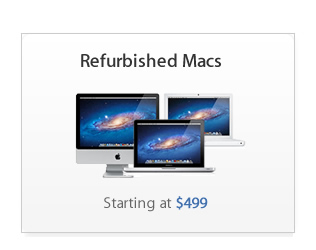 Refurbished Macs